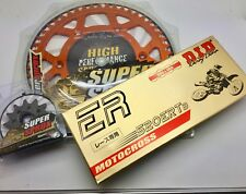KTM SX SXF EXC EXCF XC 125 - 550 Front 14 Rear 48 Sprocket Org Alloy DID Gold ER