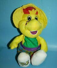 "Playskool Barney BJ Water Pals 11"" Plush Bath Soft Toy 1992 Foam Stuffed Animal"