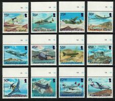 Ascension Aircrafts and Airplanes 12v Top Margins MNH SG#1194-1205
