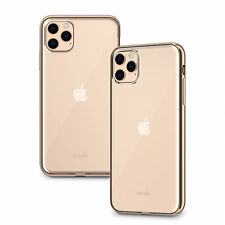 "Moshi Vitros Clear Case for iPhone 11 Pro Max 6.5"" Champagne Gold Genuine"