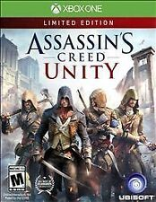 Assassins Creed UNITY XBOX ONE LIMITED! FIGHT, SWORD, ACTION WARFARE REVOLUTION
