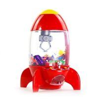 Rocket Candy Grabber Children LED Lights Sounds Crane Battery