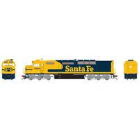 Athearrn ATHG63945 Santa Fe SDP40F #5262 Locomotive HO Scale