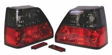 MK2 GOLF Rear Light Set, Crystal Red/Smoked, GTI 16V Style - WC945RLG02S