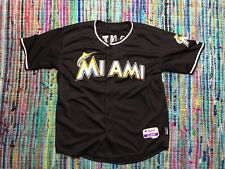10c47e2840a Majestic GIANCARLO MIKE STANTON MIAMI MARLINS MLB Stitched JERSEY 48 Yankees