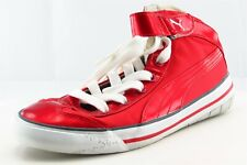 PUMA Lace Up Fashion Sneakers Red Synthetic Women Shoes 5.5 M