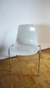 Wilkhahn Stuhl 224 Design Georg Leowald Fiberglas 50er / 60er Jahre Stapelstühle