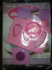 Deagostini Cake Decorating Magazine FLOWER SPECIAL WITH PANSY MOULD PIPING BAG