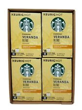 Starbucks Keurig Veranda Blend Blonde Roast Ground Coffee 64 K-Cup Exp Feb 2020