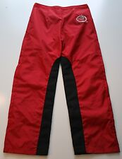 Huchi Gear Red and Black Kevlar Lined Motorcycle Pants Size 7 Juniors