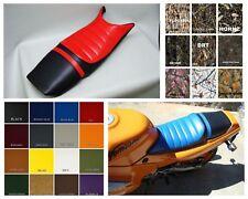 Black Saddlemen 87-90 Honda CBR600F Saddle Skins Seat Cover