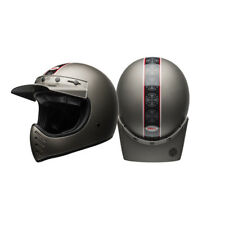 Bell Moto3 Independent Retro Classic Dirt MX Offroad Motorcycle Large Helmet HB