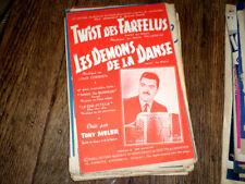 Twist des farfelus + Le démon de la danse twist accordéon piano sax 1962 Corbier