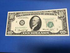 1974 $10 Ten Dollar STAR NOTE XF