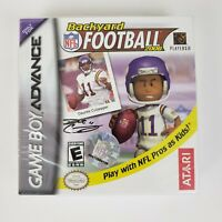NEW-NFL Backyard Football 2006 GameBoy Advance Game factory sealed