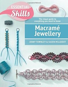 Macrame Jewellery by Millodot, Suzen Book The Cheap Fast Free Post