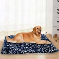 Small Medium Extra Large Pet Dog Crate Mat Kennel Cage Pad Blanket Cushion 4Size