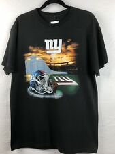 NFL NY Giants Men's Black Short Sleeved T-Shirt Size Large NWT
