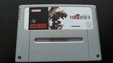 Final Fantasy VI 6 SNES Super Nintendo PAL en italiano