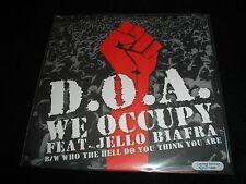 """DOA/Jello Biafra We Occupy Vinyl 7"""" Record non cd/lp song! d.o.a! dead kennedys!"""