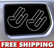 Two shocker stickers FREE SHIPPING JDM HONDA EVO STI 5