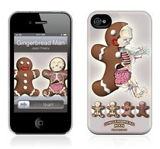 Hard Case GelaSkin- Gingerbread Man Dissected for iphone 4/4S