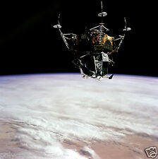 Photo Nasa - Apollo 9 - Module spatial LM-3 Spider en orbite autour de la Terre