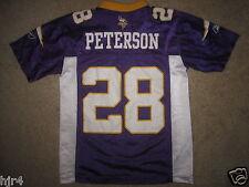 Adrian Peterson #28 Minnesota Vikings Reebok NFL Jersey Youth S 8 Small