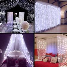 3m 300 LED Fairy Lights Window Curtain String Light for Christmas Weddi Party hi