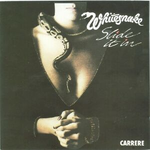 WHITESNAKE SLIDE IT IN US REMIX CD on French label Carrère 1984