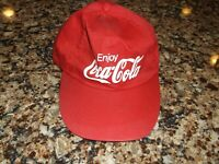 Vintage Coca Cola Snapback Trucker Mesh Hat Coke Hats Used Red Hats Snap back