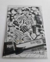 2019 Topps Big League Blake Snell Artist's Proof Insert S# /50 Tampa Bay Rays