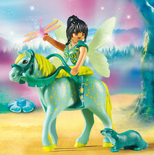PLAYMOBIL® 9137 Water fairy with horse Aquarius - NEW 2017 - S&H FREE WORLDWIDE