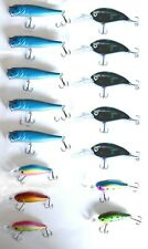 New 15 Fishing Lures Top Water Popper Bass Swimbaits, Pike Crankbaits