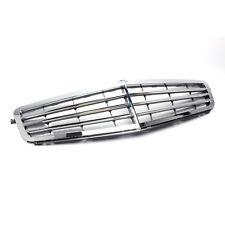 For Benz C Class W204 2007-13 Chrome Vehicle Body Front Bumper Grille Trim Refit