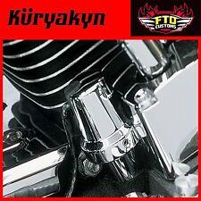 Kuryakyn Chrome Oil Sender Switch Cover All '84-'99 Evo Big Twins 8136