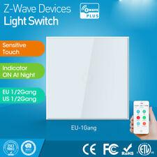 Z-wave 1CH EU Wall Light Switch Home Automation Wireless Smart Remote Control