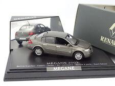 Norev 1/43 - Renault Megane 2003 4 Portes Grise
