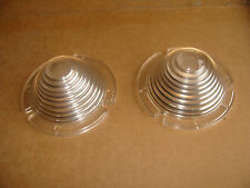 A pair of NOS 1954 Ford parking  light lenses D 21