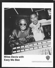 Vintage Original Ltd Edition Promo Photo 8x10 Miles Davis Eazy Mo Bee 1992