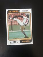 1974 TOPPS #330 JUAN MARICHAL HOF SF GIANTS— GOOD CENTERING💥*** (wph)