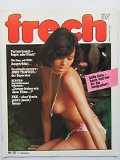 Frech Nr 58, John Travolta, Doris Denberg, Antschi Berger, Linda Blair, FKK