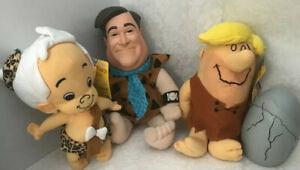 Vtg Bam Bam Barney Hanna Barbera The Flintstones Plush Sugar Loaf  Fred -Mattel
