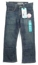 New Signature By Levi's Boys Relaxed Slim Classic Boot Cut Denim Jeans 8 Reg