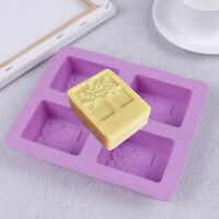 4-Cavity Tree Silicone Mold Cake Soap Mould Cookie Chocolate Mold DIY Baking  Jf