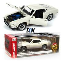 AUTO WORLD AMM1196 1969 FORD MUSTANG FASTBACK BOSS 429 DIECAST MODEL CAR 1:18