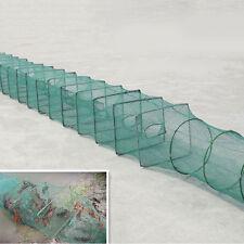 Fast Folding Fishing Net Fish Shrimp Minnow Crab Baits Cast Mesh Trap Mackerels