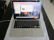 "APPLE MACBOOK PRO 13"" RETINA (FIN 2013) Core I5 2.4GHz / 4Go RAM / 256Go SSD"