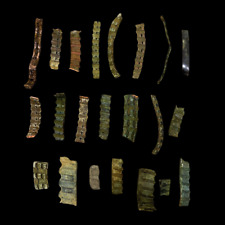 Lot Battlefield Dug Wwi German Shrapnel Fragment Randomly Selected (C.O.A.)