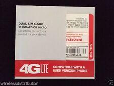 Tracfone Verizon Micro Mini Sim Card Tracfone Verizon Wireless Dual Sim Card